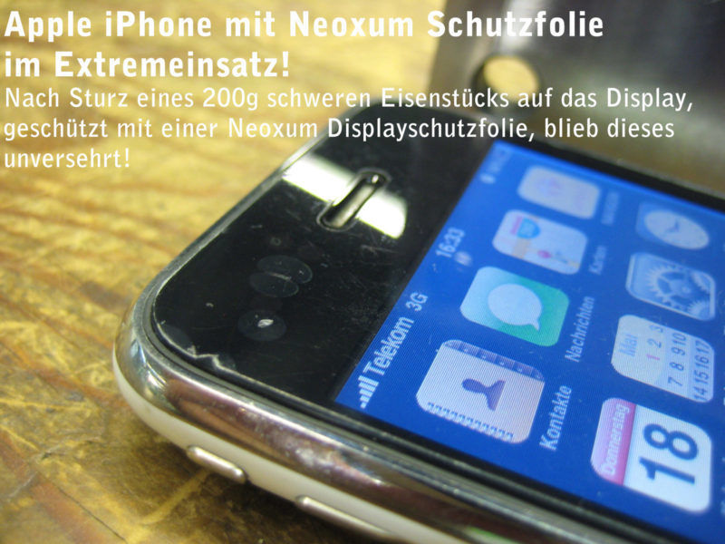 Apple iPhone 3GS Displayschutzfolie