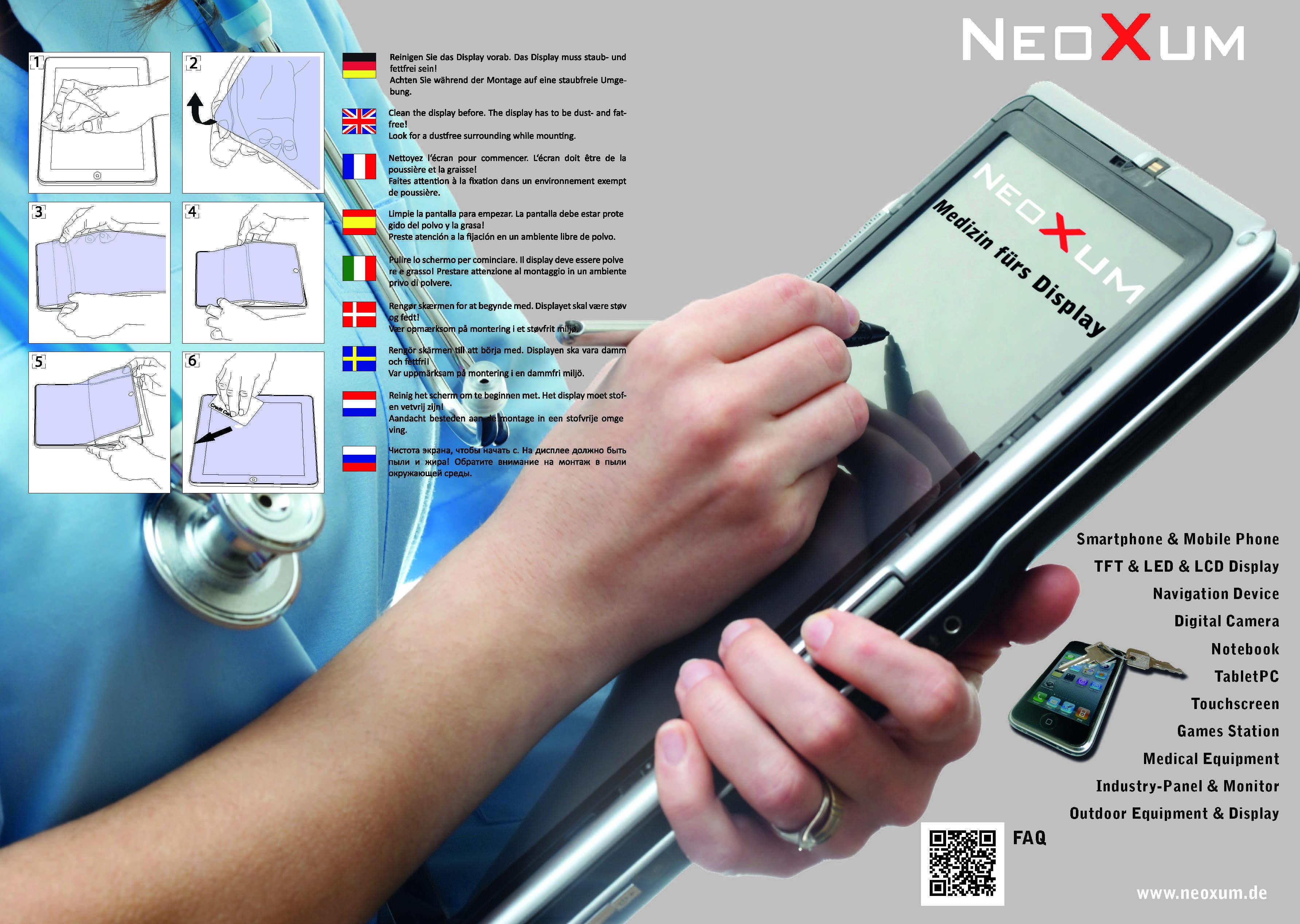 Neoxum Verpackung Displayschutz Tablet Folie Aufbringen_Seite_2
