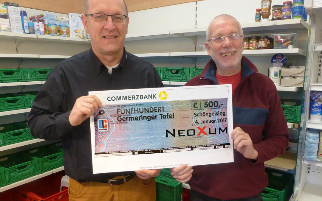 Donation to the Germeringer board