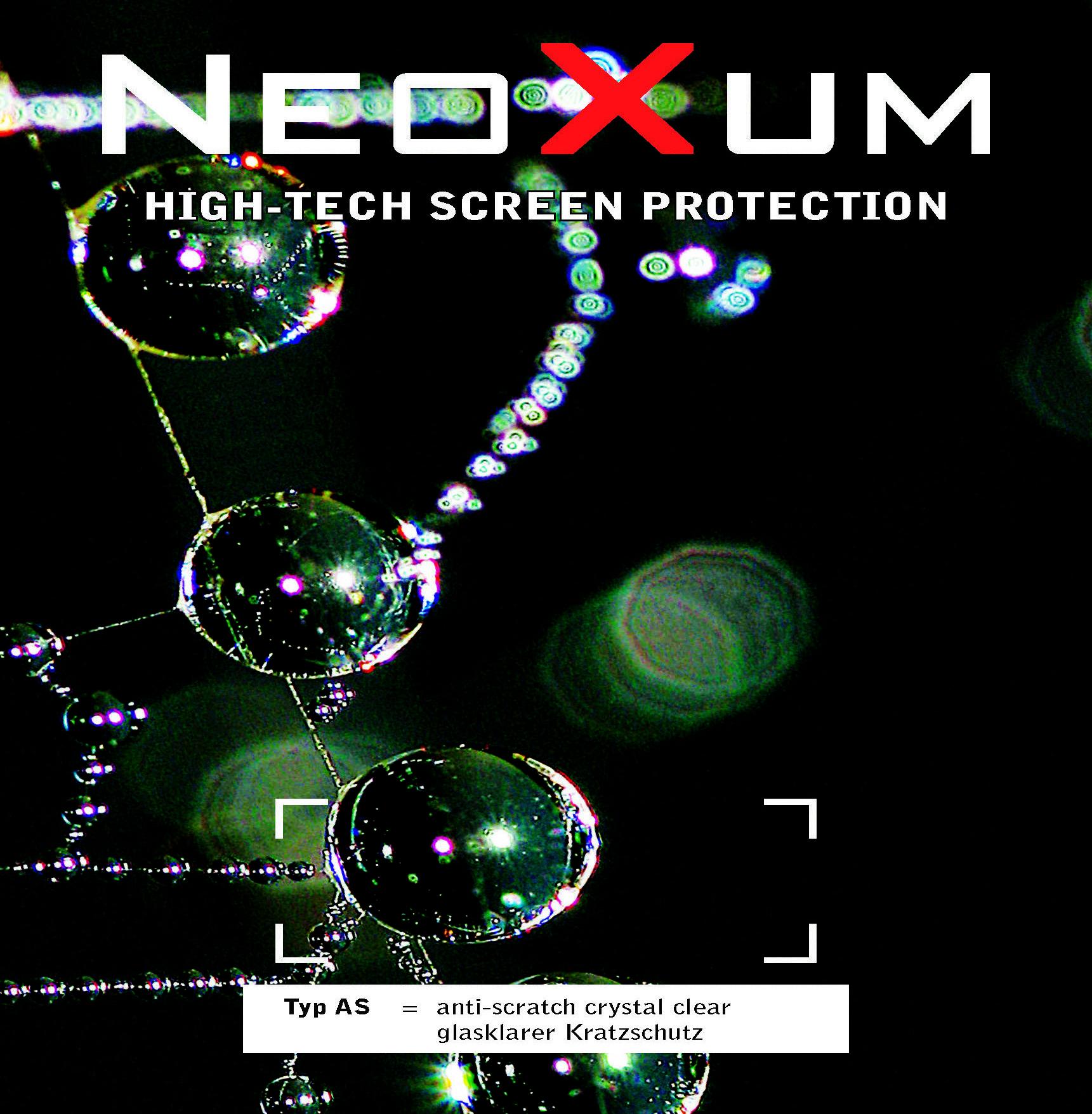 Neoxum Verpackung Displayschutz Handy Vorderseite
