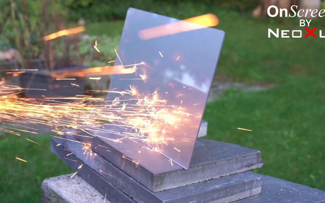 OnScreen Hybrid glass in extreme test